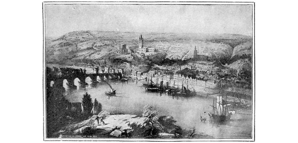 Early View of Tyne Bridge