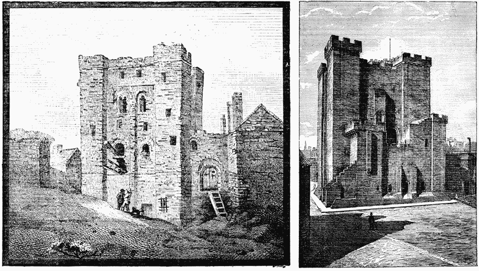 The Castle Keep Before and After Renovation