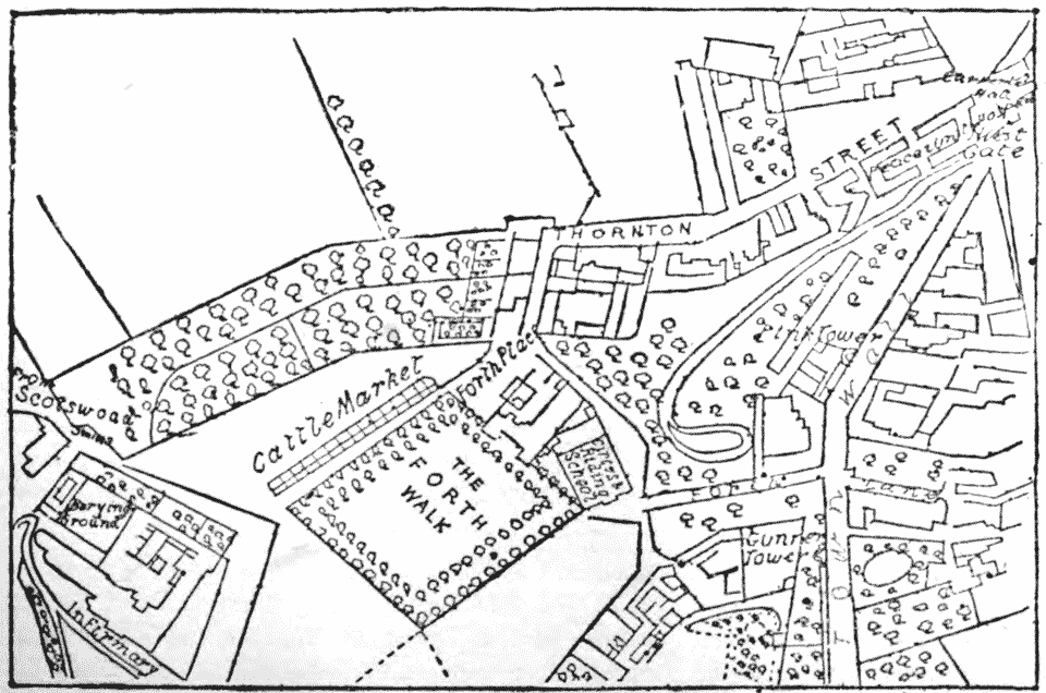 Oliver's Plan of Newcastle