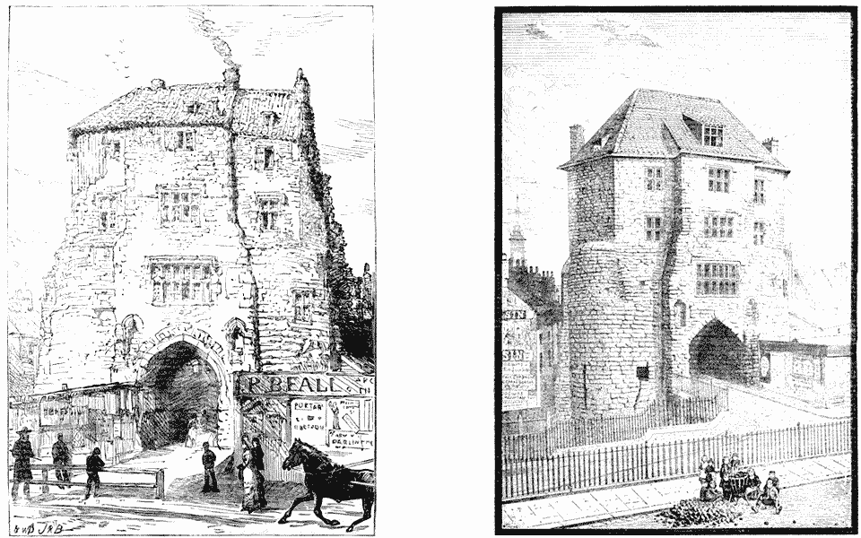 Views of the Black Gate